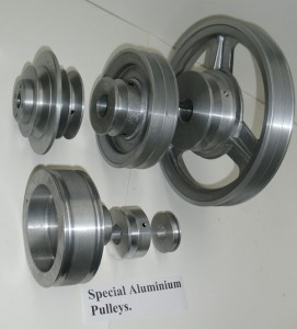 Special Aluminium Pulleys